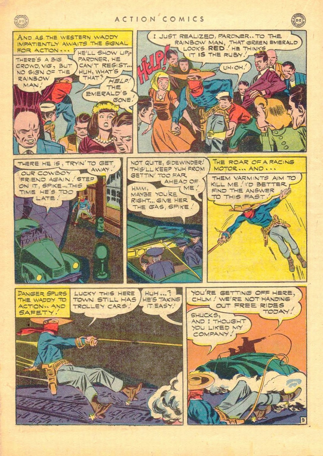 Read online Action Comics (1938) comic -  Issue #77 - 29