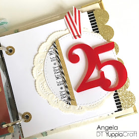 Giorno 25 del mio December Daily by Angela Tombari for Yuppla Craft DT
