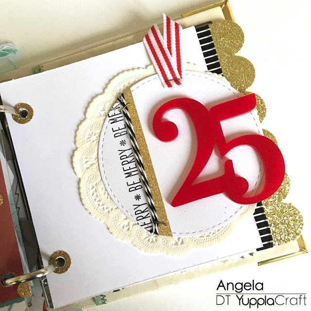 Giorno 25 del mio December Daily by Angela Tombari for Yuppla Craft DT