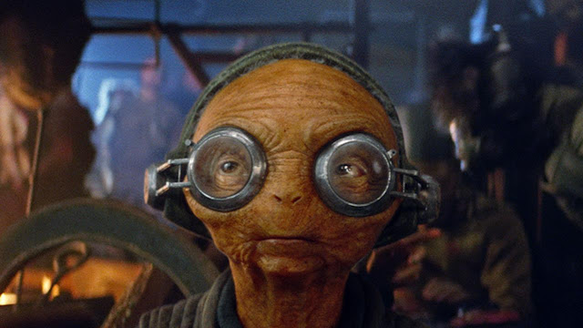 Maz Kanata quotes from the 'The Force Awakens'.