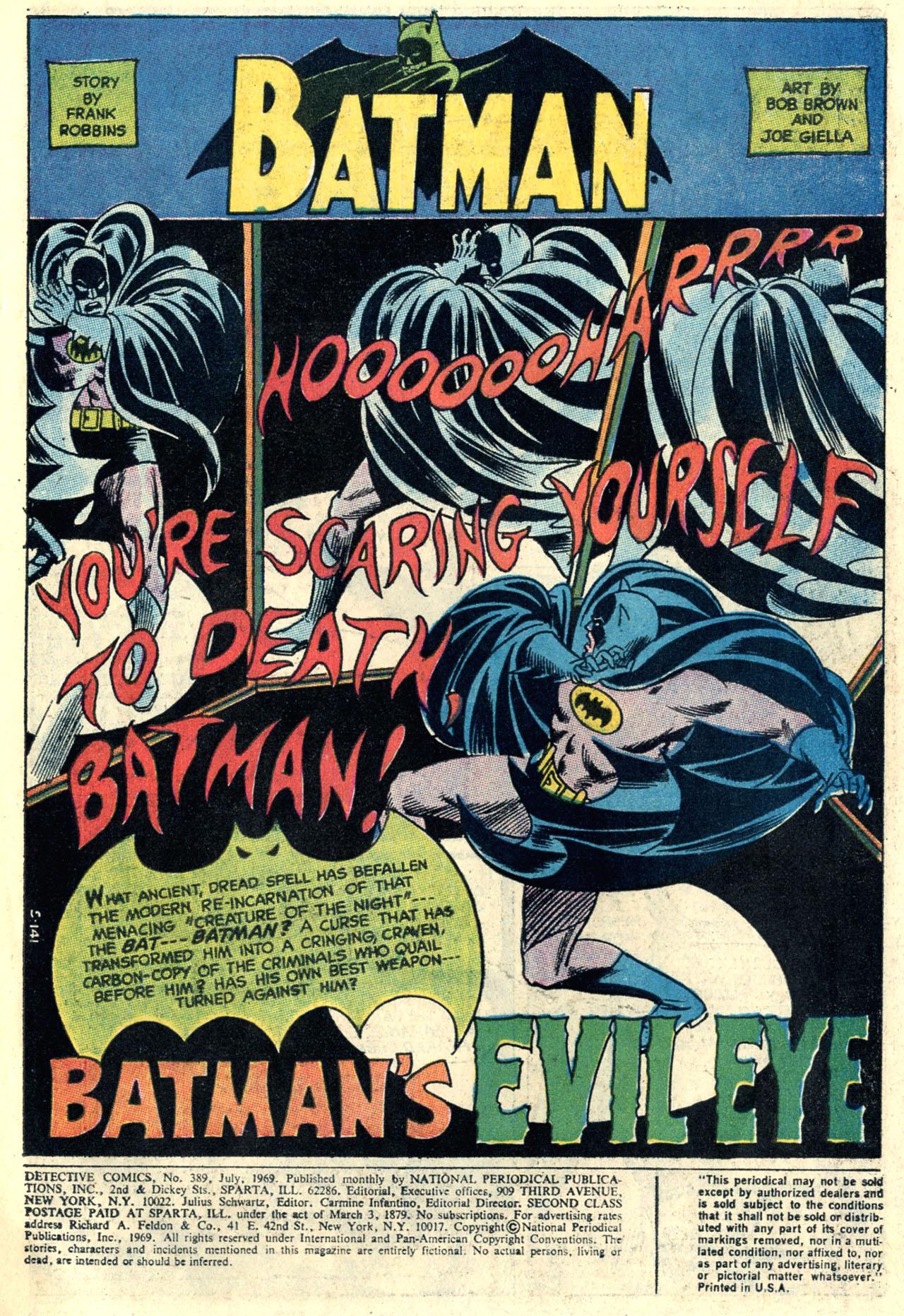 Detective Comics (1937) 389 Page 2