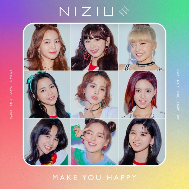 NiziU – Make You Happy Mini Album [2020.06.30/MP3/RAR]
