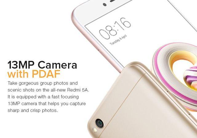 Xiaomi Redmi 5A Rose Gold - Twitter