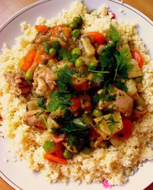 Potrawka z kurczaka i warzyw