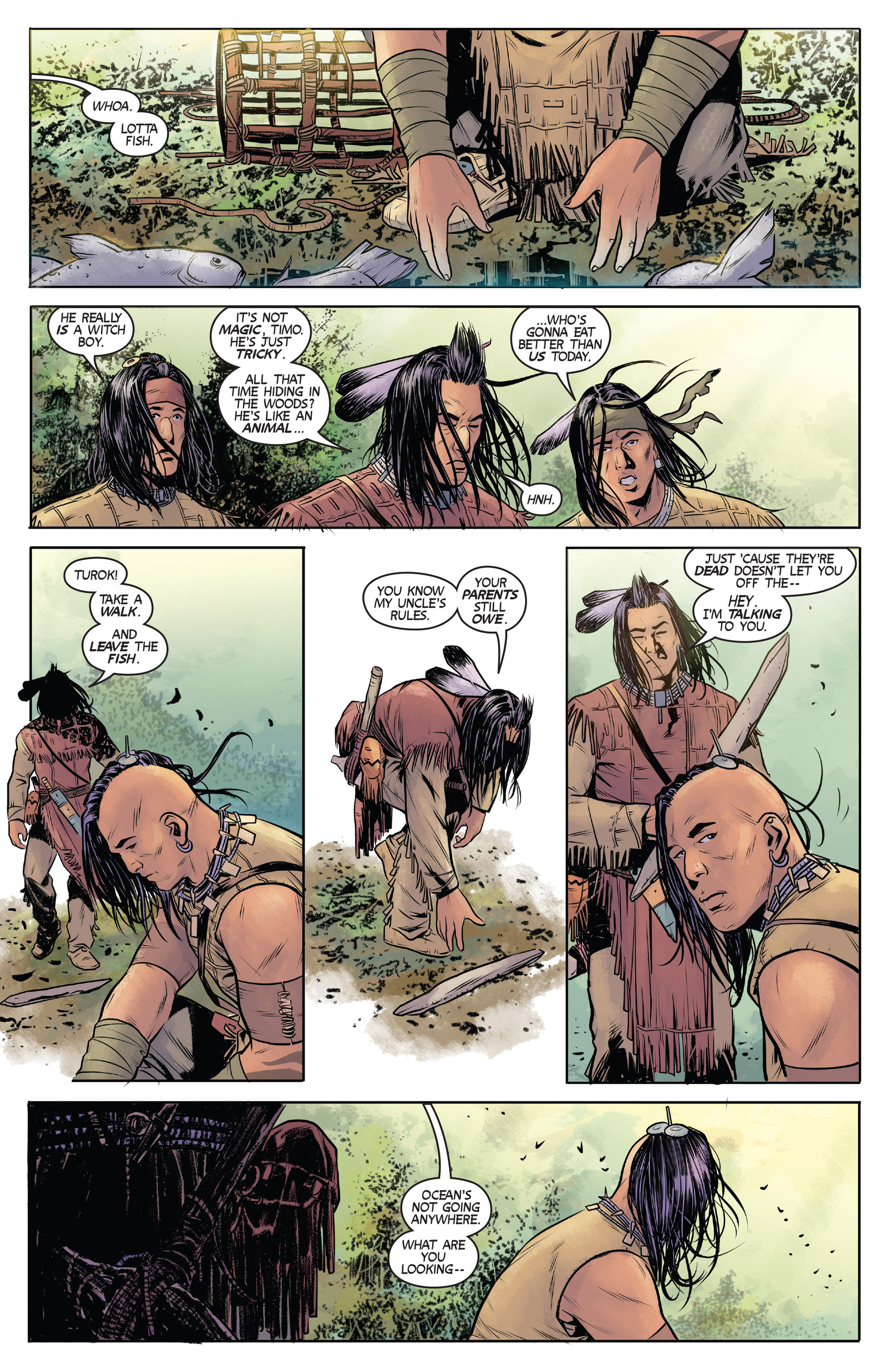 Read online Turok: Dinosaur Hunter (2014) comic -  Issue #1 - 8