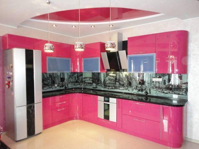 Pink Kitchen That Will Amaze All Ladies
