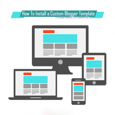 In this tutorial i will show you, how you can upload or change your blogger design in blogger blogging plafform.