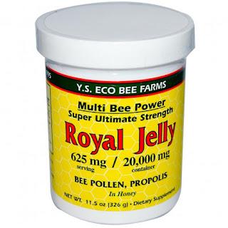 Y.S. Eco Bee Farms, Royal Jelly, 11.5 oz (326 g)  غذاء ملكات النحل