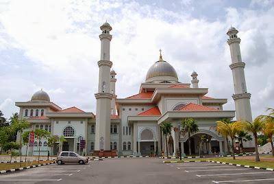 Masjid Sultanah Nur Zahirah, Marang