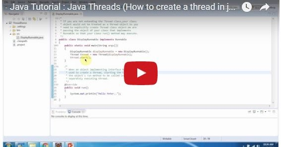 Java ee java tutorial java threads how to create a for Thread pool design pattern java