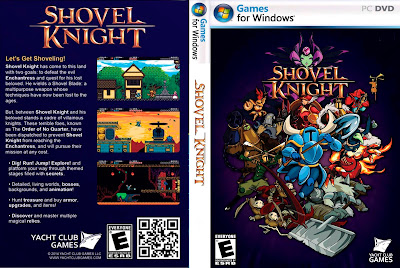 Jogo Shovel Knight PC DVD Capa