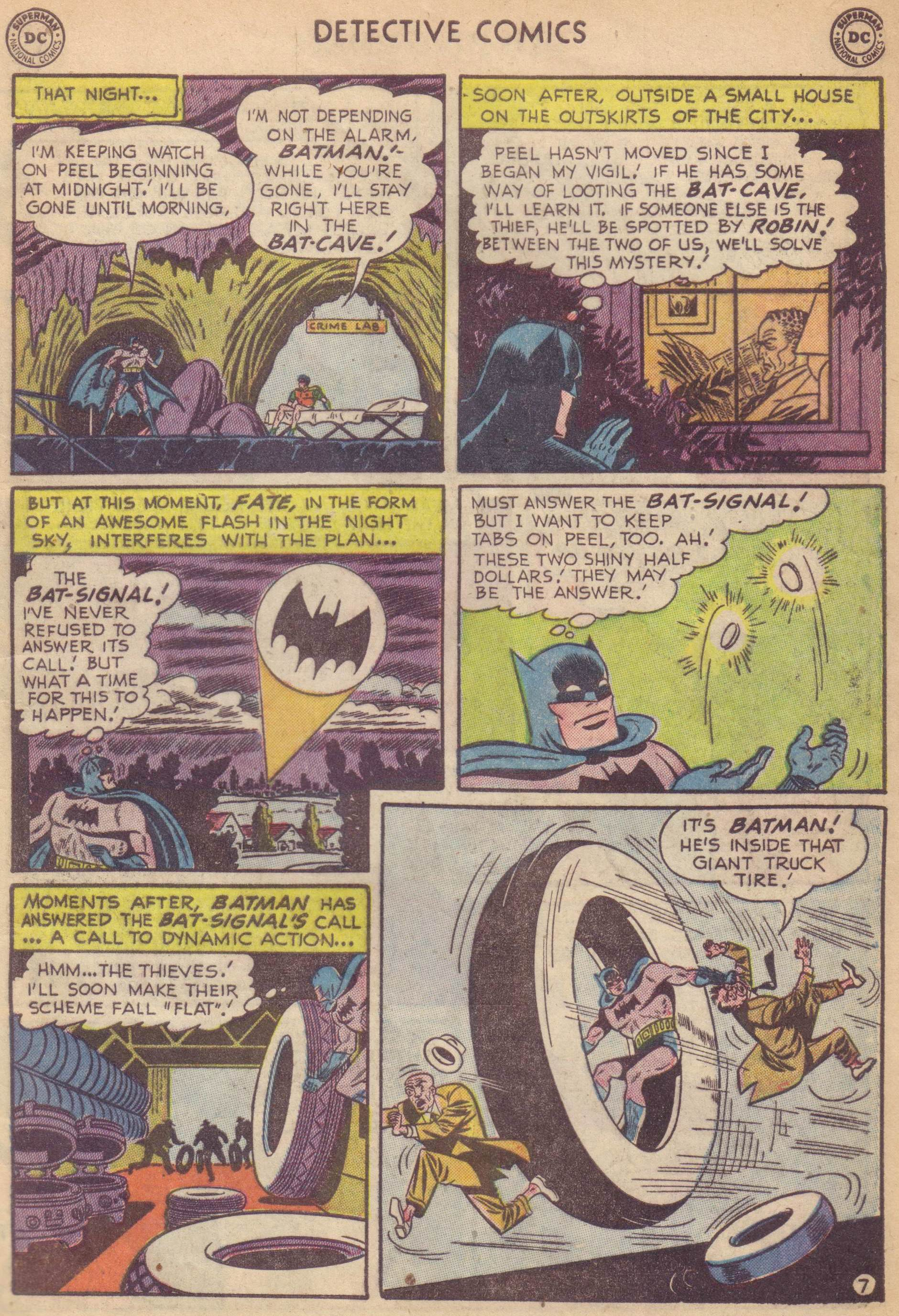 Read online Detective Comics (1937) comic -  Issue #177 - 9