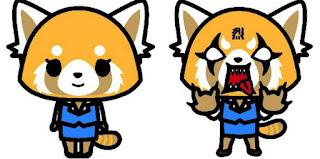 Panda roux content/ Panda roux pas content