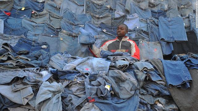 Nairobi second hand clothe dealer
