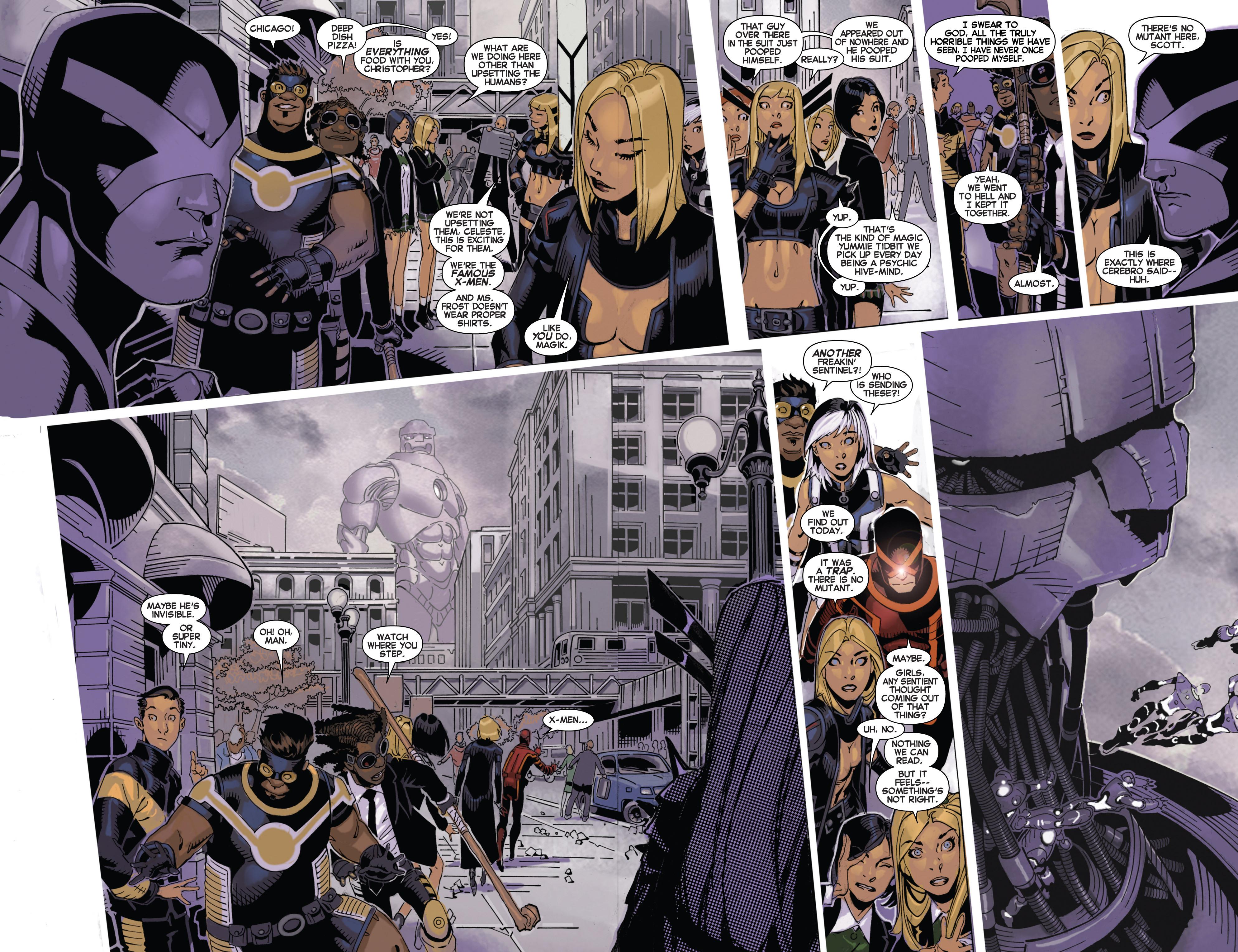 Read online Uncanny X-Men (2013) comic -  Issue # _TPB 4 - vs. S.H.I.E.L.D - 13