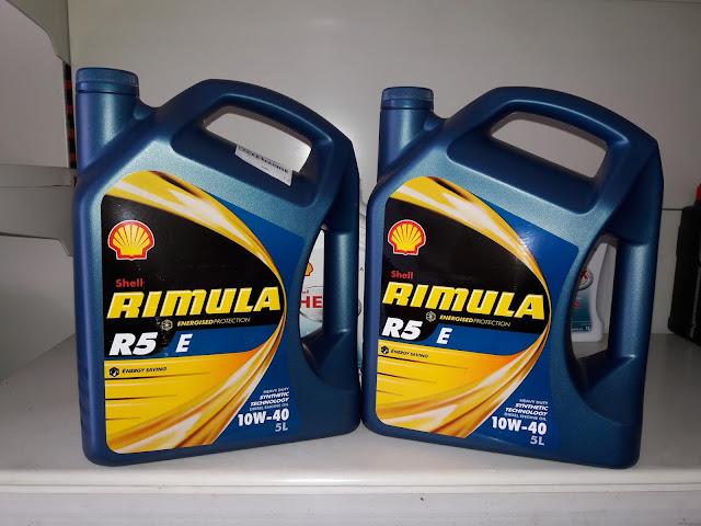 Harga Shell Rimula R5 E 10w40