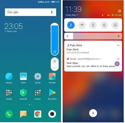 Rom MIUI 10 Global Dual 4G Volte Xiaomi Redmi 5 Rosy