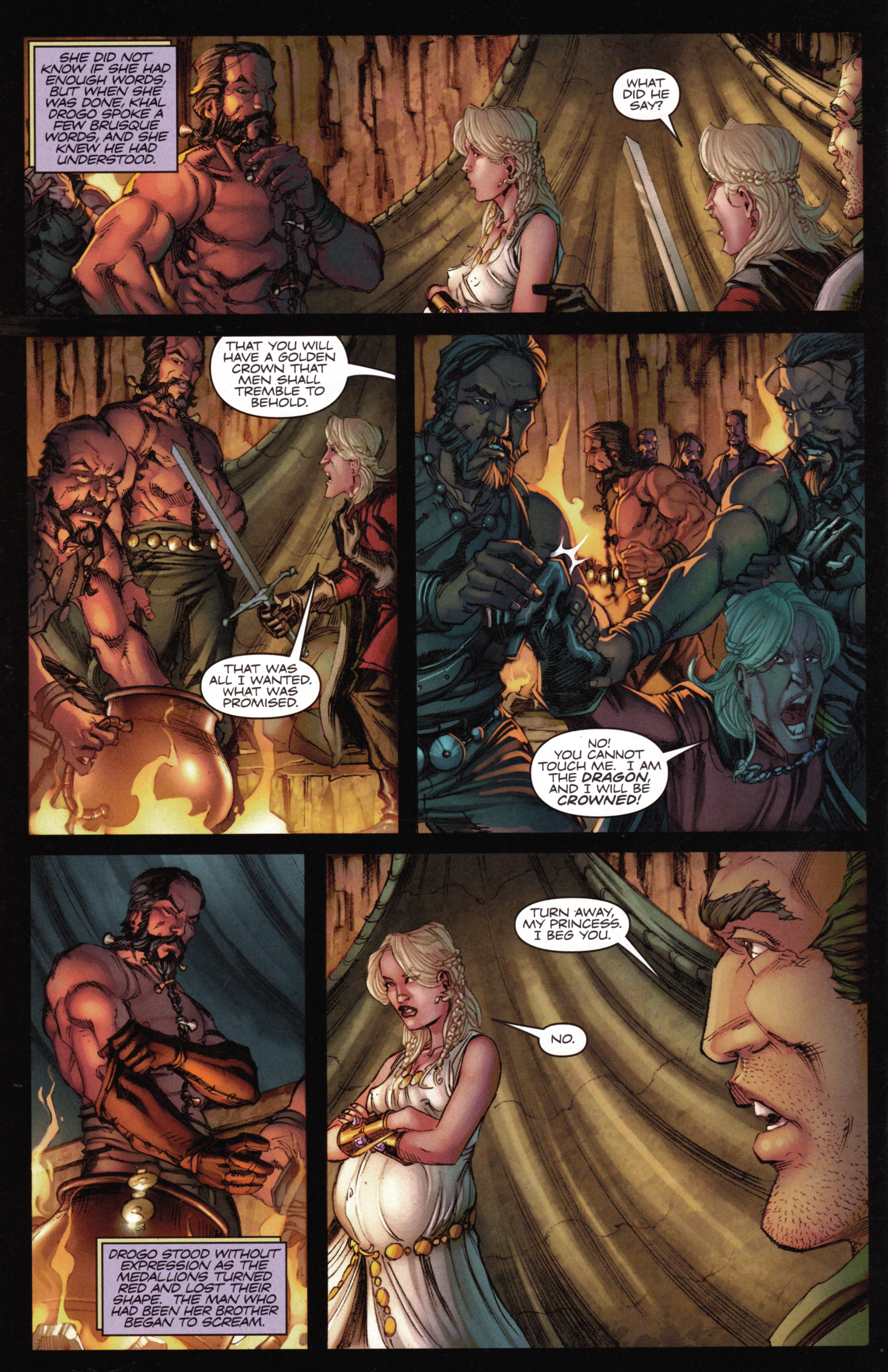Read online A Game Of Thrones comic -  Issue #15 - 30