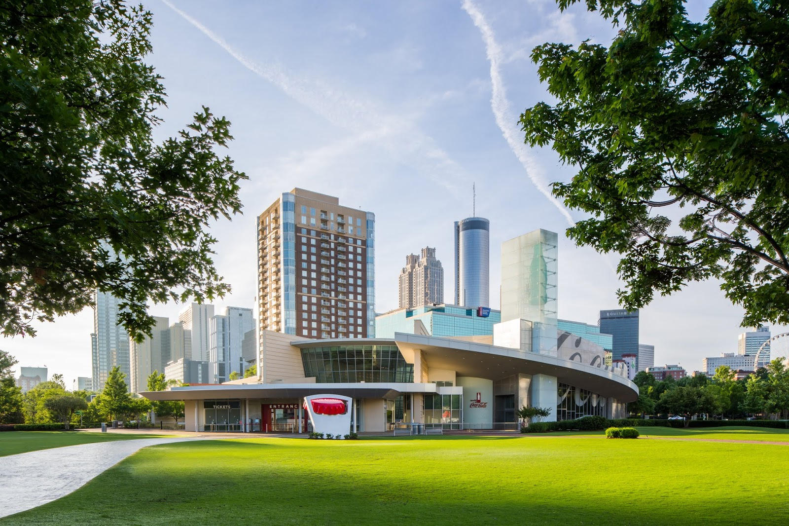 Win a Family 4-Pack Tickets: Five Ways Summer Sparkles at World of Coca-Cola  via  www.productreviewmom.com