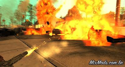 novas explosões gta