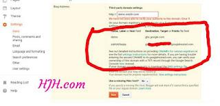 Blogger mein subdomain kaise use kro