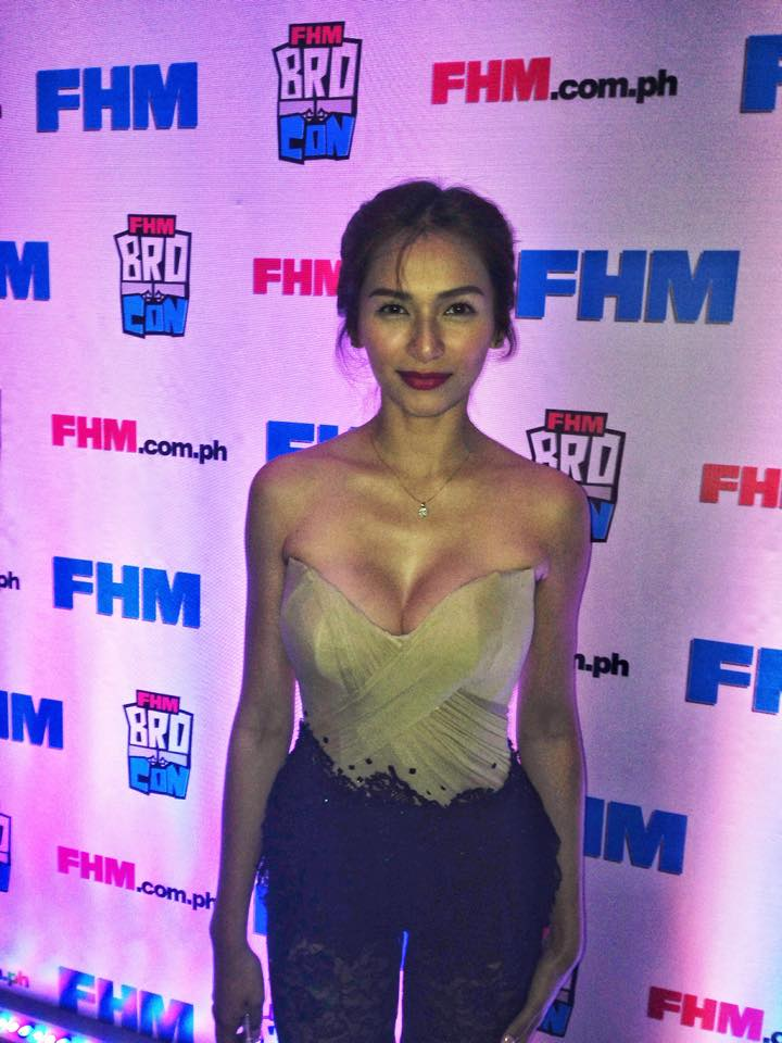 The Nation's Sexiest Woman Jennylyn Mercado at FHM BroCon 2015