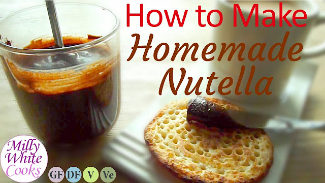 Homemade Nutella Recipe - Healthier Dairy-Free & Vegan Chocolate Hazelnut Spread