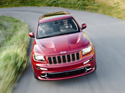 2012 Jeep Grand Cherokee SRT8 – premiere in New York