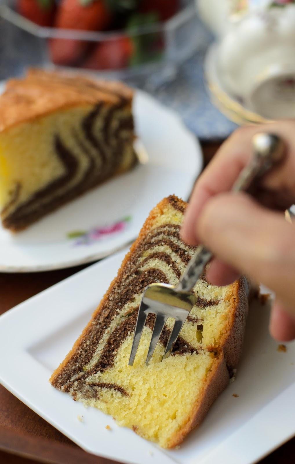 Marble cake recipe.