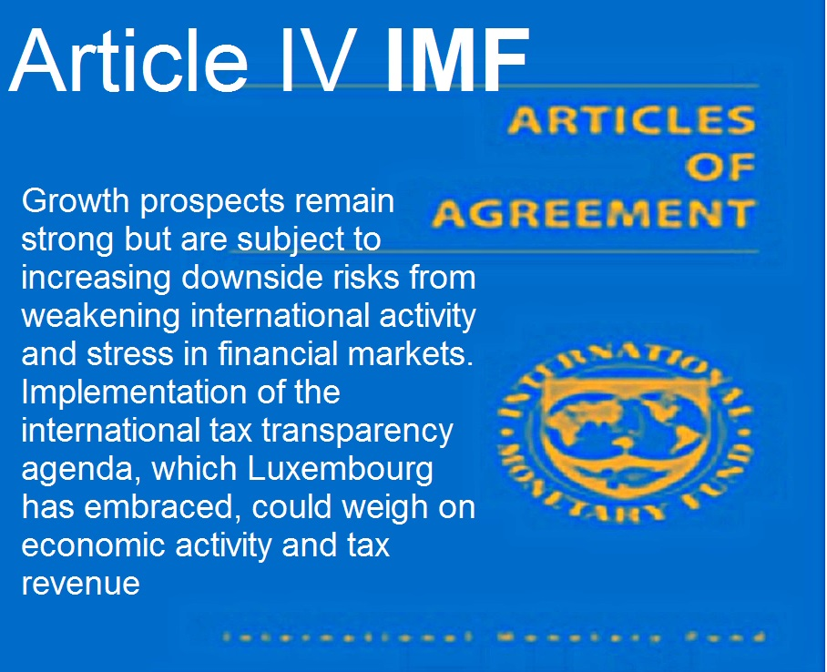 Imf Statement Luxembourg Concluding Statement Of The 2016 Article