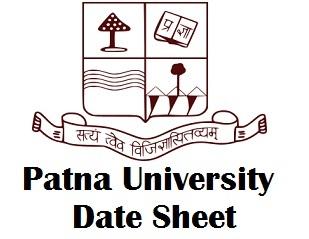 Patna University Exam Time Table 2018