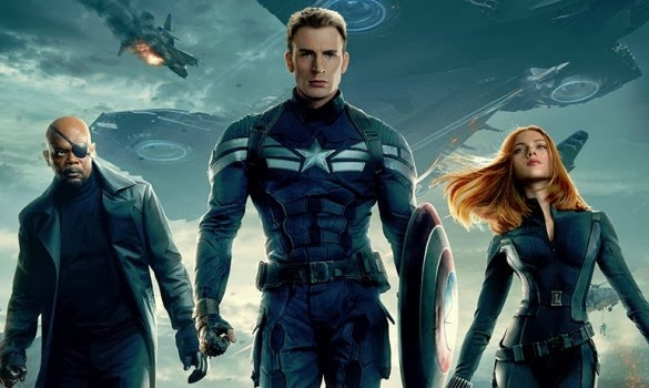 Clip of Captain America 2 with Black Widow : Teaser Trailer