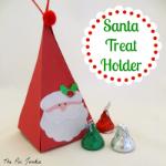 Santa Treat Holder
