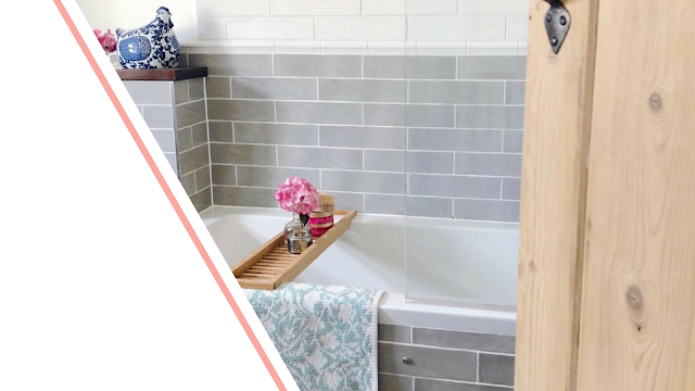 inspirational bathrooms from bloggers and instagrammers, including vintage sink units, rainfall showers, modern bathrooms and downstairs loo.