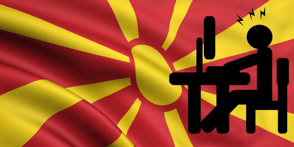 Over 1.5m Macedonians uses internet - 1m with Facebook accounts