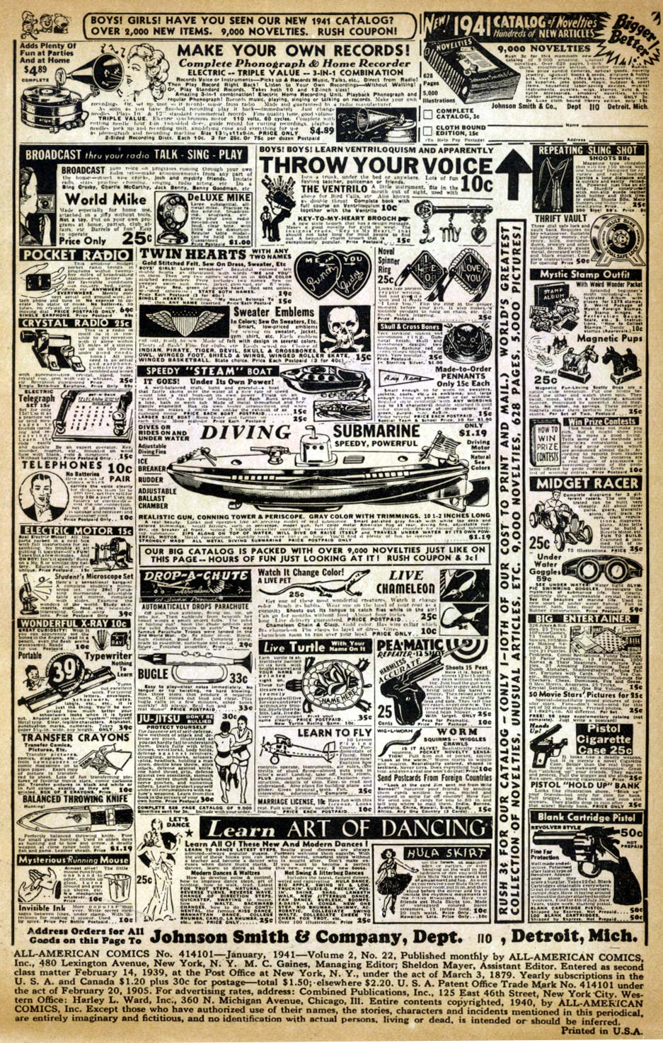 Read online All-American Comics (1939) comic -  Issue #22 - 2