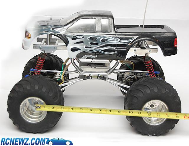 Tamiya Clod Buster ESP Clodzilla II wheelbase