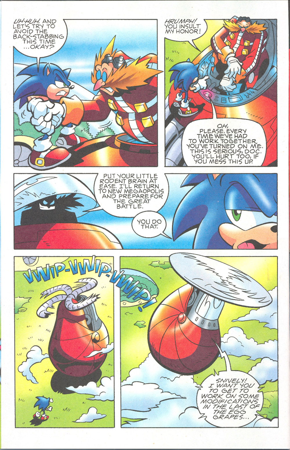 Read online Sonic The Hedgehog comic -  Issue #180 - 9