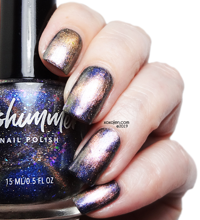 xoxoJen's swatch of KBShimmer Something Wicca This Way Comes