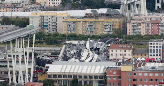 Cars Plunge In Italian Highway Bridge Collapse; 25 Killed