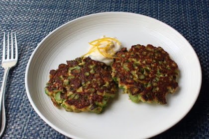 Fresh Asparagus Patties – Spring is in the Air, After Coming Up Through the Ground