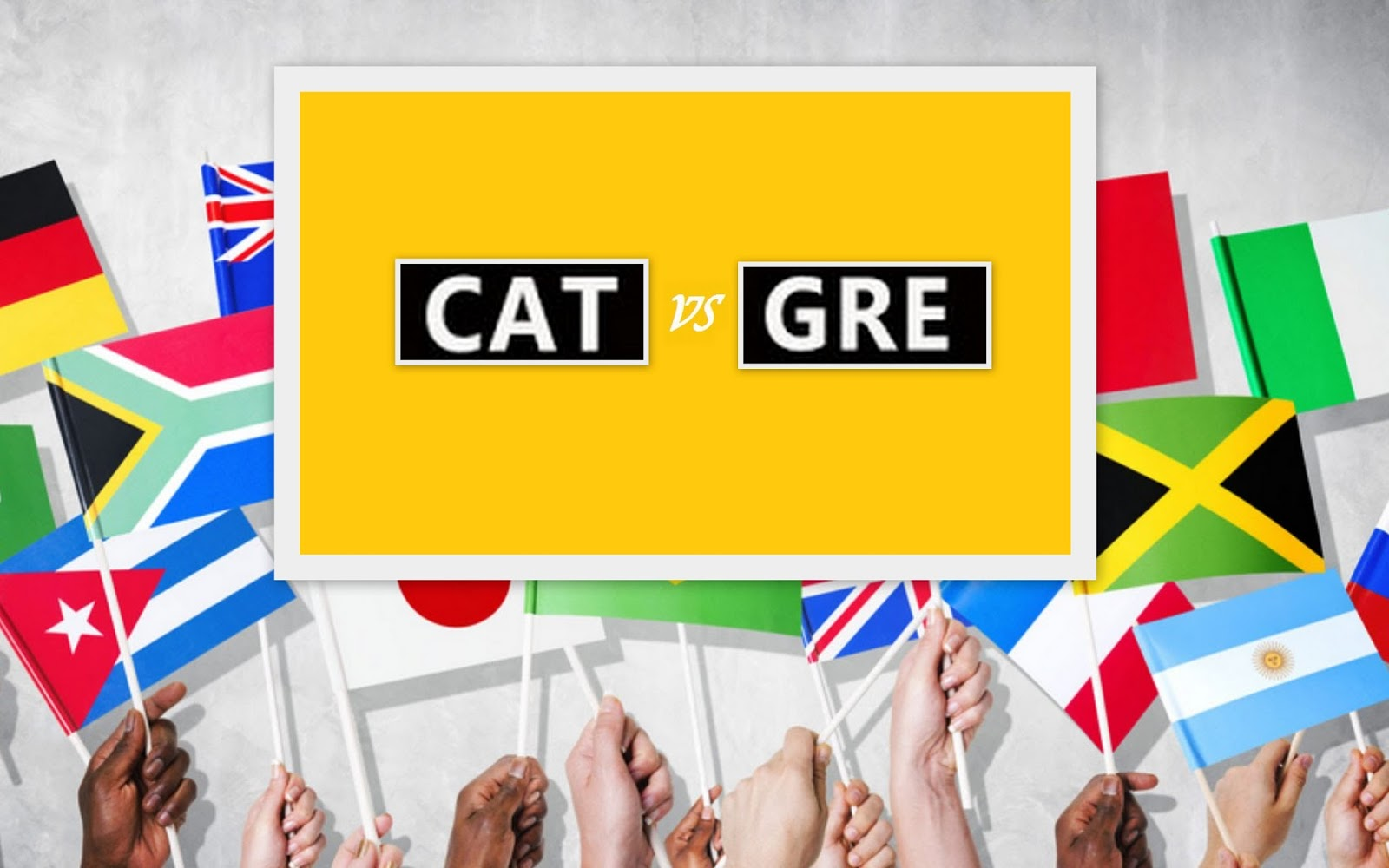 How to prepare for both GRE and CAT together?- Study Abroad