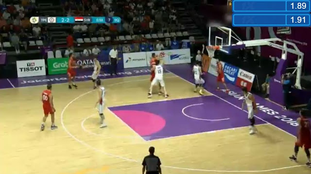 Live Streaming List: Chinese Taipei vs Syria 2018 ASIAD Basketball Men