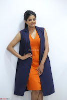 Priyamani in Beautiful Short Deep neck Orange Dress ~  Exclusive 08.JPG