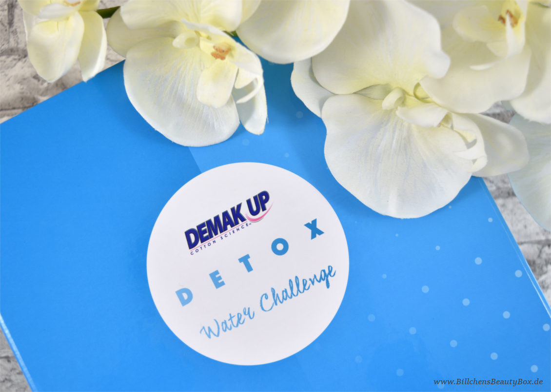 Demak'Up - Detox Water Challange