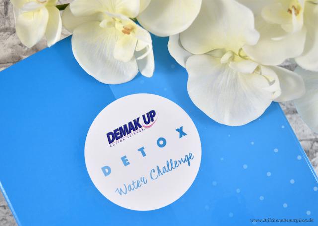 Demak'Up - Detox Water Challange