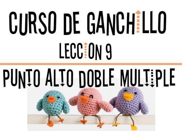 Curso de Ganchillo-Leccion 9
