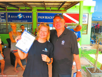 Testimonial by Svenja of the April 2016 PADI IDC on Koh Lanta
