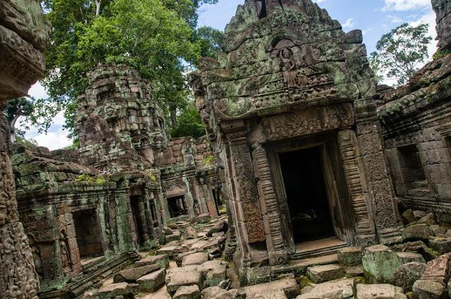Ruinas templos Camboya