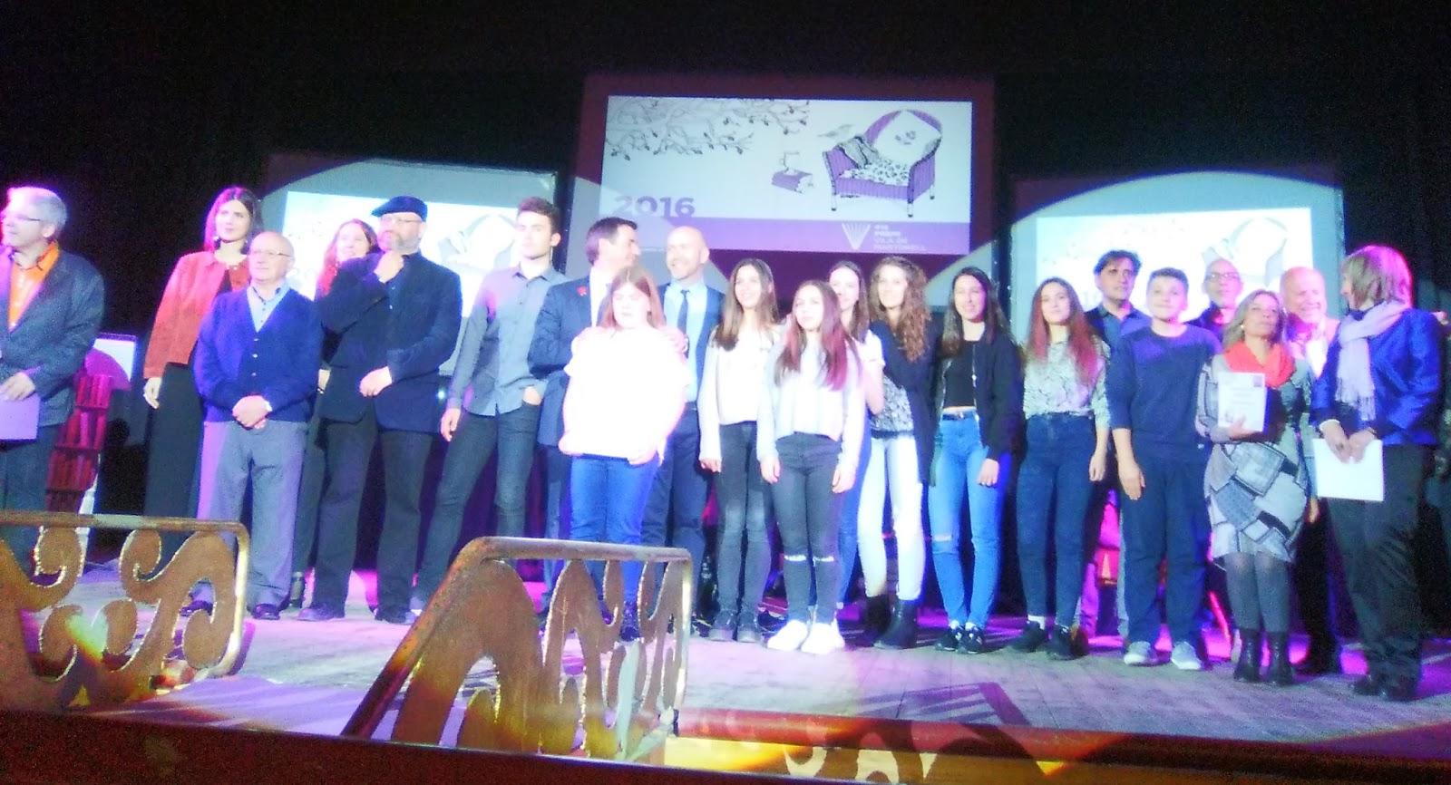 Guardonats 41è Premi Vila de Martorell 2016